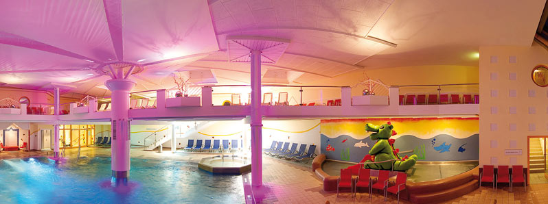 Wasserwelt Amade élményfürdő - belső élményfürdő